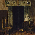 Vrelo, Jacobus – old woman at the fireplace, part 03 Hermitage