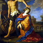 Guercino – Martyrdom of St. Catherine, part 03 Hermitage