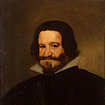 Velazquez, Diego – Portrait of Count-Duke of Olivares, part 03 Hermitage