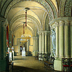 Hau Edward Petrovich – Types of rooms of the Winter palace. Gothic Drawing Room Grand Duchesses, part 03 Hermitage