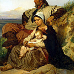 Family Fisherman, Louis Gallait