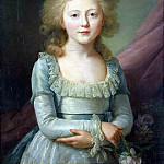 Veil, Jean Louis – Portrait of Grand Duchess Elena Pavlovna in childhood, part 03 Hermitage