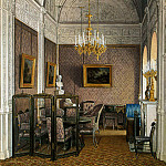 part 03 Hermitage - Hau Edward Petrovich - Types of rooms of the Winter Palace. Boudoir of Empress Alexandra Feodorovna