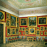 part 03 Hermitage - Hau Edward Petrovich - Types halls of the New Hermitage. Cabinet of the Italian schools (4)