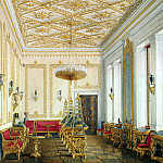 part 03 Hermitage - Hau Edward Petrovich - Types halls of the New Hermitage. Study of the Empress
