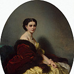 Winterhalter, Francois Xavier – Portrait of SP Naryshkina, part 03 Hermitage