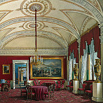 part 03 Hermitage - Hau Edward Petrovich - Types of rooms of the Winter Palace. The second half of the spare. Lounge