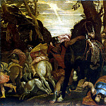 Veronese, Paolo – The Conversion of Saul, part 03 Hermitage
