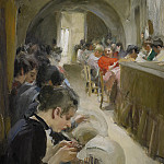 Anders Zorn - Lace-making in Venice