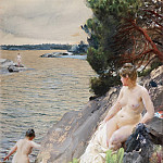 Summer, Anders Zorn
