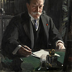 Anders Zorn - PORTRAIT OF AMBASSADOR DAVID JAYNE HILL
