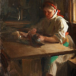 Ida browses bird, Anders Zorn