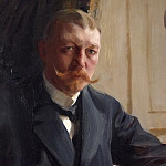Portrait of Zorn s friend the German-born industrialists Franz Heiss, Anders Zorn