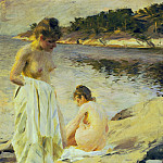 The Bathers, Anders Zorn