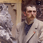 Self-Portrait, Anders Zorn