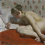 Anders Zorn - Study of a Nude