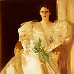 Portrait Of Mrs Eben Richards, Anders Zorn