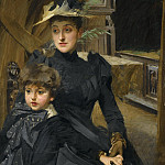 MRS WEGUELIN AND HER SON, Anders Zorn