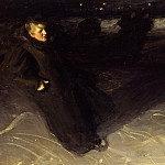 The Ice Skater, Anders Zorn