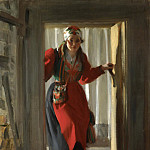Anders Zorn - The woman in the doorway