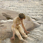 Anders Zorn - The Bather