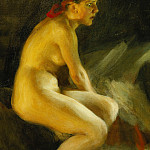 On the Bed, Anders Zorn