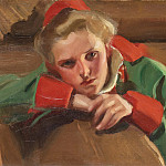 Girl from Mora, Anders Zorn