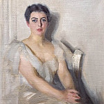 Anders Zorn - Mrs. Grover Cleveland