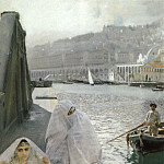 In the harbour of Algiers, Anders Zorn