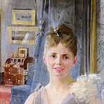 Anders Zorn - Zorn Anders Portrait Of Edith Palgrave Edward In Her London Residence