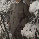 The Painter Bruno Liljefors, Anders Zorn
