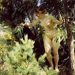 Anders Zorn - Wood-Sprite