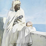 Man and boy in Algiers, Anders Zorn