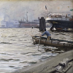 The Port of Hamburg, Андерс Цорн