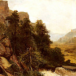 Swiss artists - Calame Alexandre Landschafts studie 1851