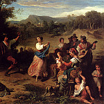 Swiss artists - Robert Leopold Louis The Fiesta