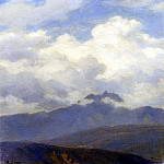 Zund Robert A View Of Mount Pilatus, Swiss artists