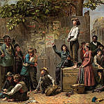 part 2 American painters - Thomas Le Clear (1818-1882) - Young America (ca. 1863 Anonymous Loan, courtesy of Karl Gabosh)