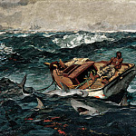 Winslow Homer – The Gulf Stream , part 2 American painters