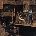 Thomas Eakins – Between Rounds , part 2 American painters