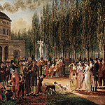 part 2 American painters - John Lewis Krimmel (American, b. Germany, 1786-1821) - Fourth of July in Centre Square, 1812 (Pennsylvania Academy of the Fine Arts, Philadelphia)