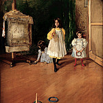 Ring Toss (1896 Marie and Hugh Halff), William Merritt Chase