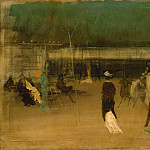 part 2 American painters - James McNeill Whistler (1834-1903) - Cremorne Gardens, No. 2 (1872-77 The Metropolitan Museum of Art)