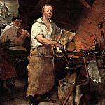 part 2 American painters - John Neagle (1796-1865) - Pat Lyon at the Forge, 1829 (Pennsylvania Academy of the Fine Arts, Philadelphia)
