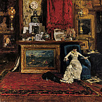 part 2 American painters - William Merritt Chase (1849-1916) - The Tenth Street Studio (1880 Saint Louis Art Museum)