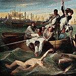 Watson and the Shark, 1778 (National Gallery of Art, Washington, D. C.), John Singleton Copley