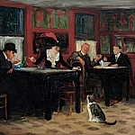 part 2 American painters - John Sloan (1871-1951) - Chinese Restaurant (1909 Memorial Art Gallery of the University of Rochester)