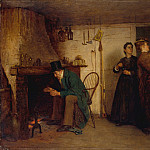 Eastman Johnson – The New Bonnet , part 2 American painters