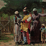 Winslow Homer – Dressing for the Carnival , part 2 American painters