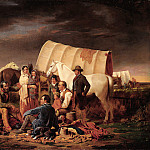 part 2 American painters - William Tylee Ranney (1813-1857) - Advice on the Prairie (ca. 1853 Buffalo Bill Historical Center)